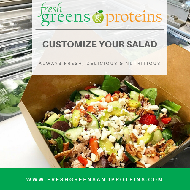 Greens & Proteins